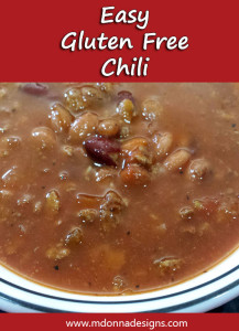 Easy Gluten Free Chili from Wendy's Restaurant
