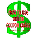 How to Use Online Coupon Codes