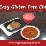 Gluten Free Chili Meal From Wendy's